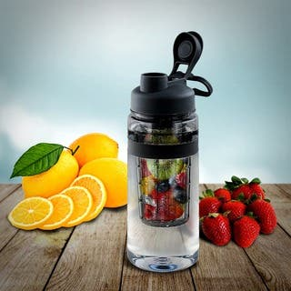 Fruit Infuser Tritan Plastic 32-ounce Water Bottle|https://ak1.ostkcdn.com/images/products/11998540/P18877564.jpg?impolicy=medium