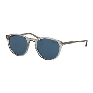 Polo Ralph Lauren Men's PH4110 541380 Grey Plastic Phantos Sunglasses