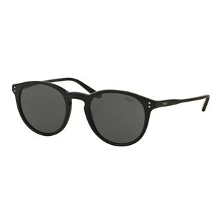 Polo Ralph Lauren Men's PH4110 528487 Black Plastic Phantos Sunglasses