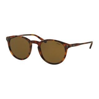Polo Ralph Lauren Men's PH4110 501773 Havana Plastic Phantos Sunglasses
