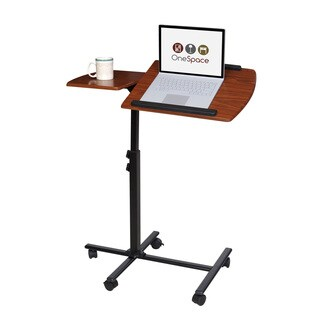 OneSpace 50-JN01 Angle and Height Adjustable Mobile Laptop Computer Desk