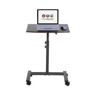 Seville Classics Adjustable Height Mobile Laptop Desk Cart