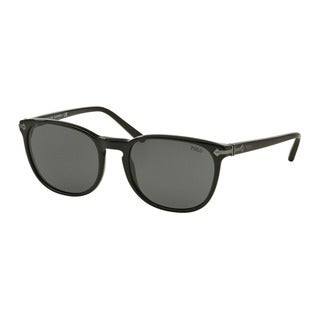 Polo Ralph Lauren Men's PH4107 500187 Black Plastic Phantos Sunglasses