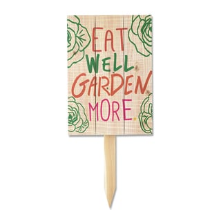 Wile E Eat Well Yard Marker