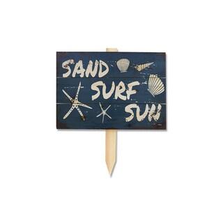 Wile E 'Sand Surf Sun' Yard Marker