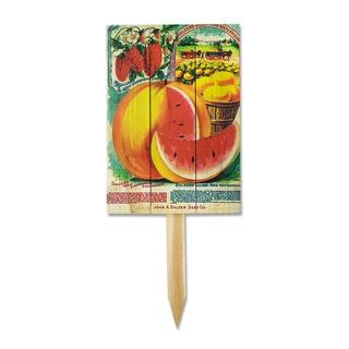 Wile E Vintage Salzer Watermelon Yard Marker