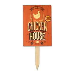 Wile E Chicken House Yard Marker