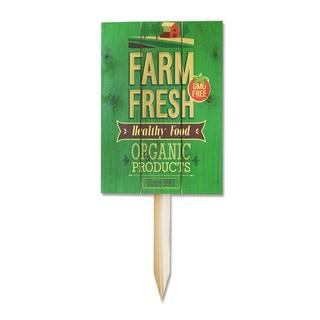 Wile E Farm Fresh Organic Yard Marker