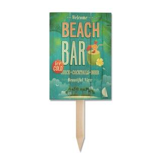 Wile E Beach Bar Yard Marker