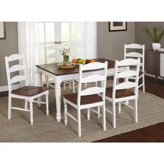 Simple Living Skipton Walnut Rubberwood Rectangular Table