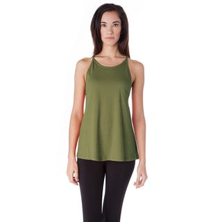 AtoZ Cotton Tank with Straps