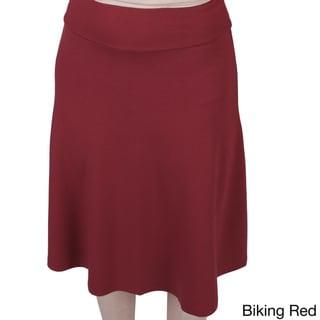 AtoZ Modal A-line Skirt