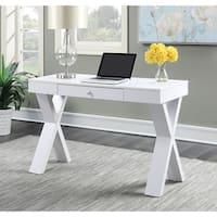 Clay Alder Home Logan Espresso/ White Wood Desk