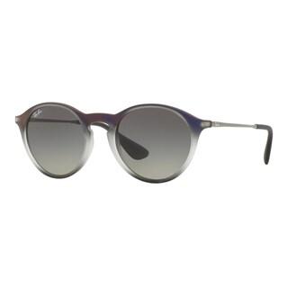 Ray-Ban Men's RB4243 622311 Violet Plastic Phantos Sunglasses