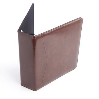 Link to Royce Leather Brown Leather 2-inch Executive D-ring Binder Similar Items in Binders
