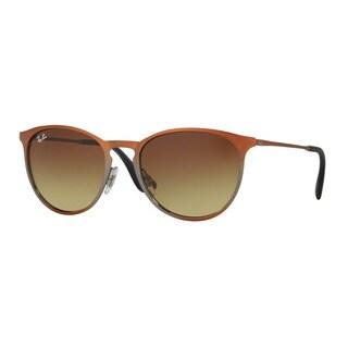 Ray-Ban Men's RB3539 193/13 Brown Metal Phantos Sunglasses