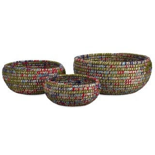 Curtis Woven Bowls (Set of 3)