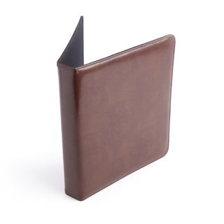 ROYCE Executive Leather 1-inch Binder/Document Organizer