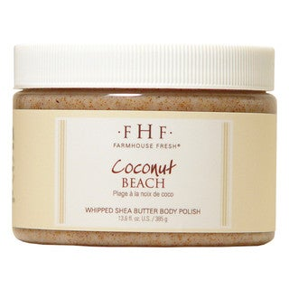 FarmHouse Fresh Coconut Beach Shea 13.6-ounce Sugar Scrub