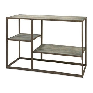 Jestlin Wood and Iron Shelf