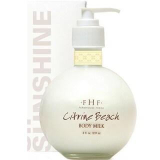 FarmHouse Fresh Citrine Beach 8-ounce Body Milk