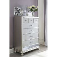 Signature Design by Ashley Coralayne Silver Five Drawer Chest