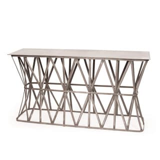 Hip Vintage Criss Cross Console Table
