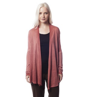 AtoZ Women's Antique Viscose Grunge Cardigan