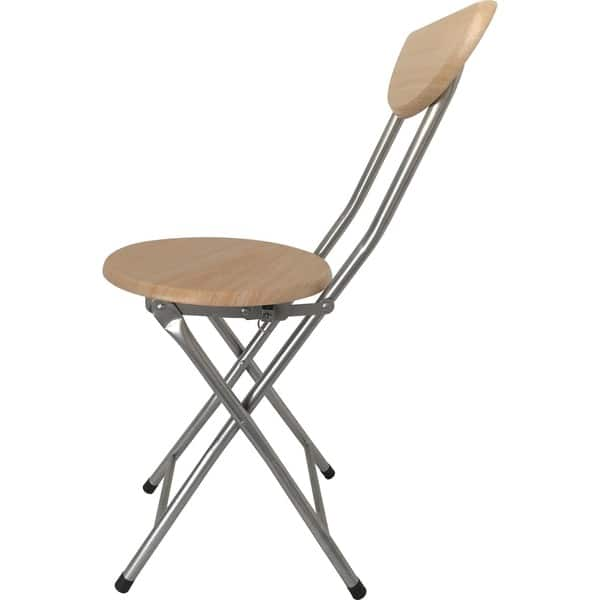 Admirable Shop Beech Wood Folding Stool With Back Free Shipping On Forskolin Free Trial Chair Design Images Forskolin Free Trialorg