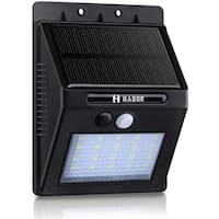 20-LED 2-mode Wireless Solar-powered Motion Sensor Outdoor Light