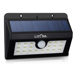 Solar Power Wireless 20 LED Light Source Security Motion Sensor Light