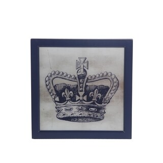 Privilege Crown Wooden Wall Decor