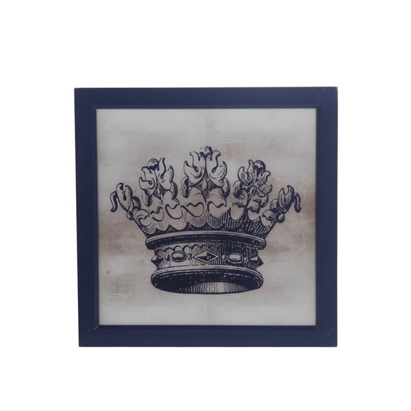 Home Decor International: Shop Privilge International Crown Grey Wood Wall Decor