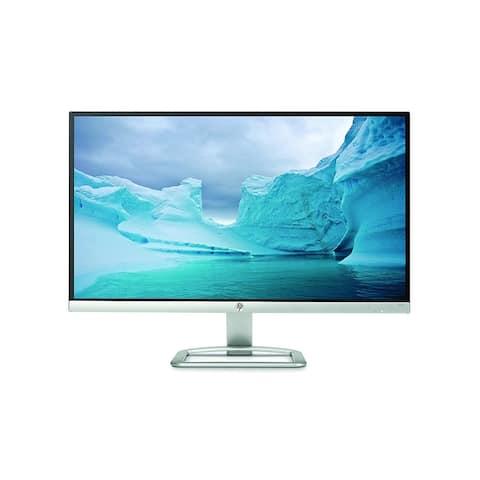 """HP 25er 25"""" Full HD LED LCD Monitor - 16:9 - Silver, White"""