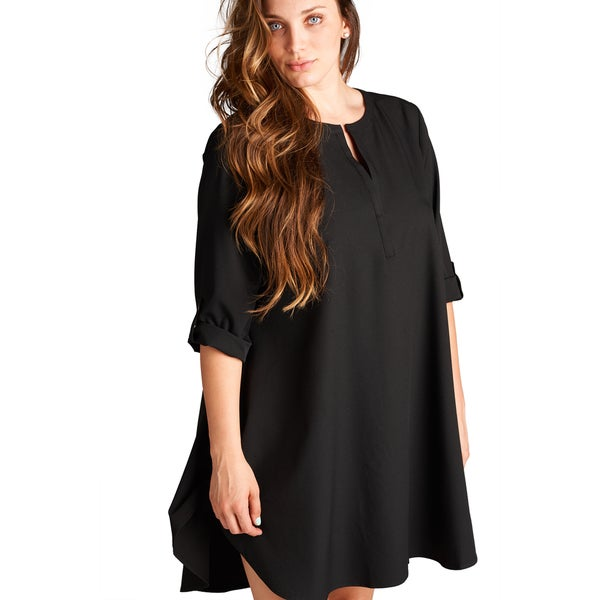 Shop Spicy Mix Womens Seraphina Plus Size Tunic Dress Free