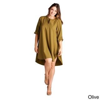 Spicy Mix Women's Seraphina Plus Size Tunic Dress