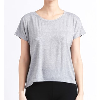 Women's Heather Grey Dolman Tee
