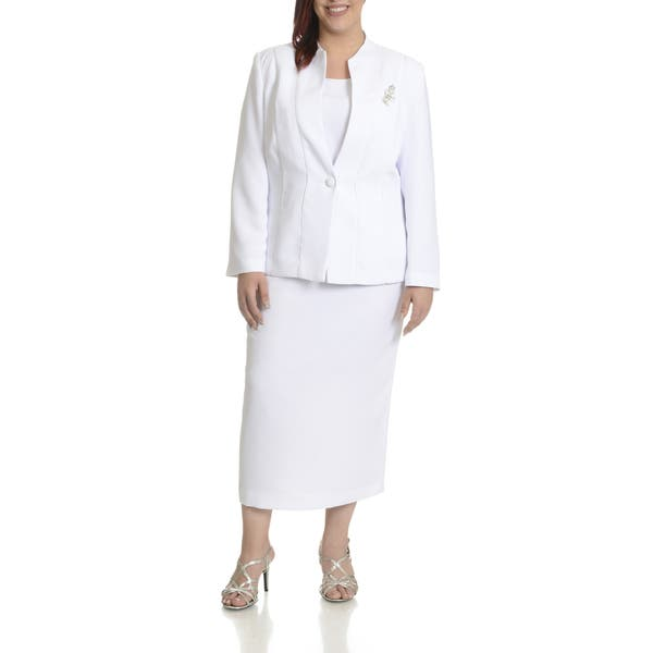 Shop Giovanna Signature Women\'s Plus Size Piping Detail 3 ...