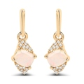 Opal Pink, Worldstock Gemstone Earrings $50+