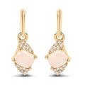 Opal Ball Gemstone Earrings Under $25