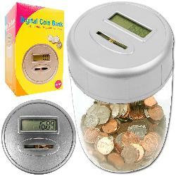Ultimate Automatic Digital Coin-counting Savings Bank - Thumbnail 1