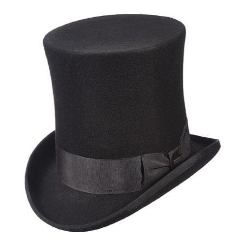 69b708889ae Shop Men s Scala WF571 Victorian Tall Top Hat Black - Free Shipping Today -  Overstock - 11899702