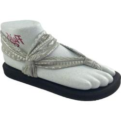 Women's Flojos Zen Sandal Gray/Silver Jersey