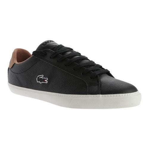 c981630008a7 Thumbnail Men  x27 s Lacoste Graduate Vulc PRM 2 Sneaker Black Black Leather  ...
