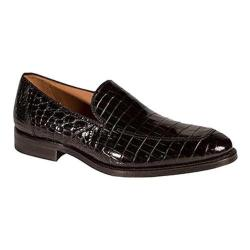 Men's Mezlan Budapest Slip-On Black Alligator