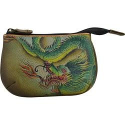 Women's Anuschka Medium Coin Purse Hidden Dragon