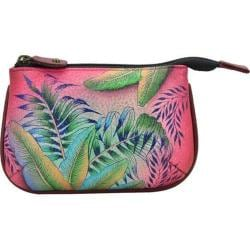 Women's Anuschka Medium Coin Purse Tropical Island