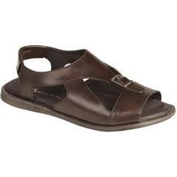 Men's Bacco Bucci Hagen Sandal Dark Brown Calf Leather