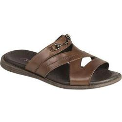 Men's Bacco Bucci Lenox Slide Graphite Calf Leather