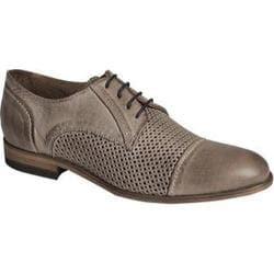 Men's Bacco Bucci Manfred Cap Toe Oxford Grey Antique Leather